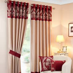 Wine Savoy Curtain Collection