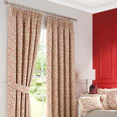 Heritage Terracotta Glava Curtain Collection