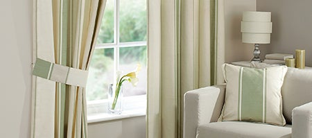 Green Milan Curtain Collection