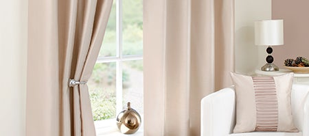 Taupe Montreal Curtain Collection