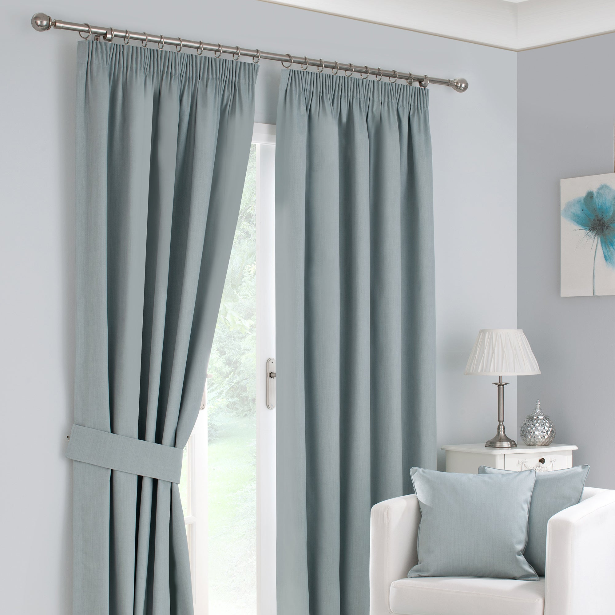 Duck Egg Solar Blackout Curtain Collection