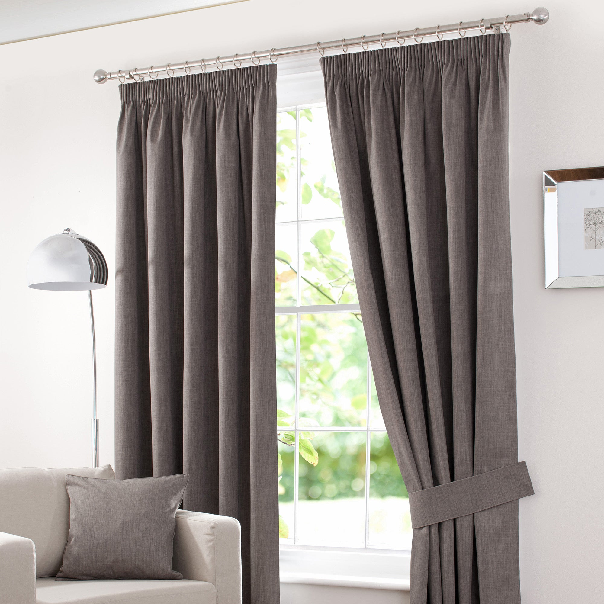 Waters and Noble Stone Solar Blackout Curtain Collection