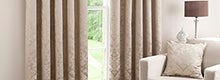 Latte Warwick Curtain Collection
