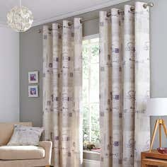Mauve Felicity Curtain Collection