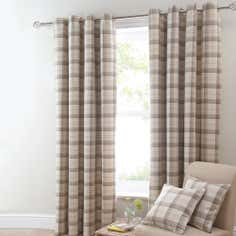 Ochre Balmoral Curtain Collection