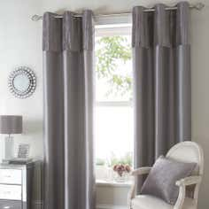Silver Opulence Curtain Collection