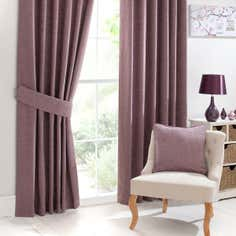 Mauve Lorenza Curtain Collection