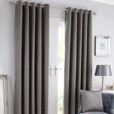 Silver Brisbane Curtain Collection