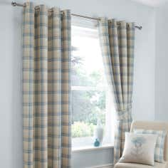 Duck Egg Balmoral Eyelet Curtain Collection