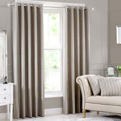 Silver Hotel Ombre Eyelet Curtain Collection
