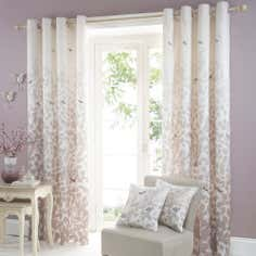 Natural Serenity Eyelet Curtain Collection