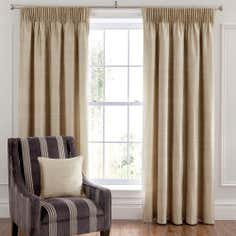 Dorma Champagne Beresford Curtain Collection