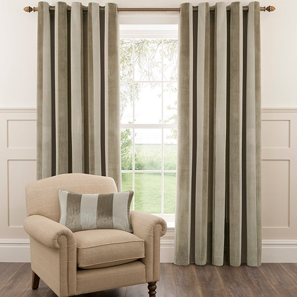 Dorma Natural Fairmont Curtain Collection