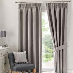 Dove Grey Palais Pencil Pleat Curtain Collection