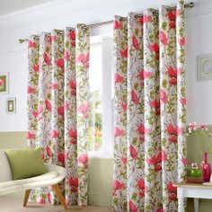 Poppyfields Eyelet Curtain Collection