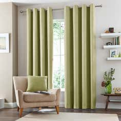 Green Vermont Eyelet Curtain Collection