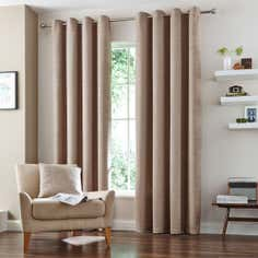Natural Vermont Eyelet Curtain Collection