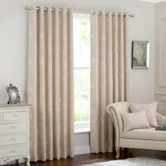 Ivory Songbird Eyelet Curtain Collection
