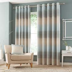 Duck Egg Waves Eyelet Curtain Collection