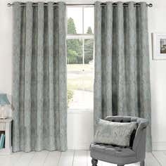 Duck Egg Novello Eyelet Curtain Collection