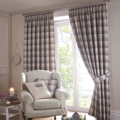 Mauve Balmoral Pencil Pleat Curtain Collection