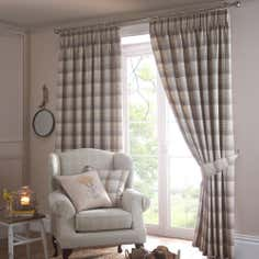 Ochre Balmoral Pencil Pleat Curtain Collection