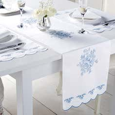 Chateau Blue Tablelinen Collection