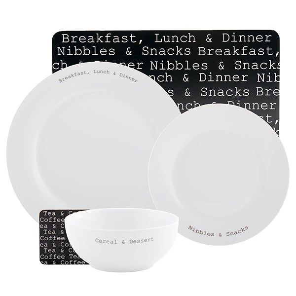 Text Dining Collection