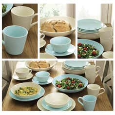 Blue Gordon Ramsay Maze Dinnerware Collection