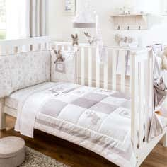 Dorma White Bunny Meadows Bed Linen Collection