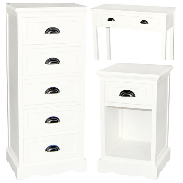 Georgia White Living Room Furniture Collection