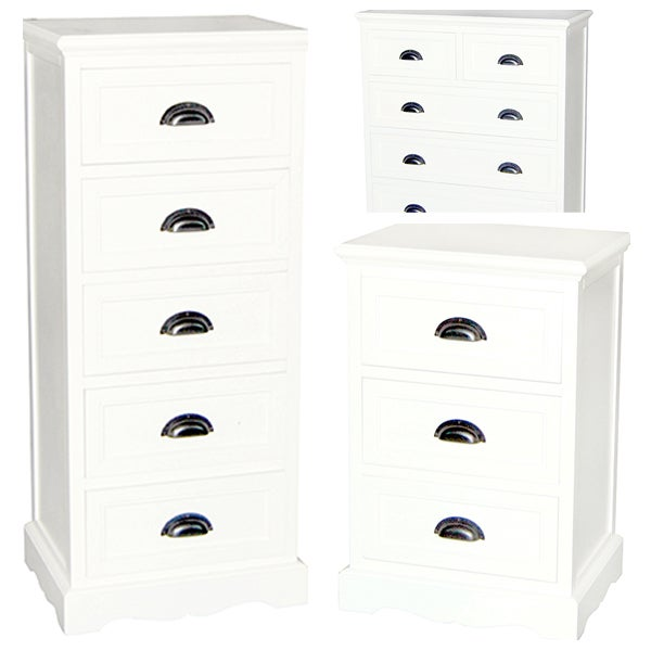 Georgia White Bedroom Furniture Collection