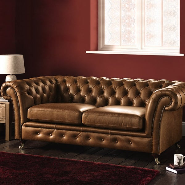 Chesterfield Leather Sofa Collection
