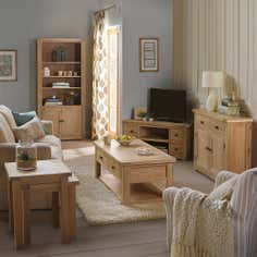 Henley Washed Oak Living Room Furniture Collection