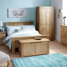 Henley Washed Oak Bedroom Furniture Collection
