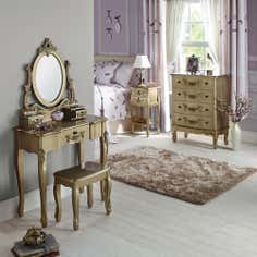 Toulouse Gold Bedroom Collection
