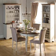 Eaton Soft Grey Dining Furniture Collection