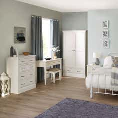 Hemsby White Bedroom Furniture Collection