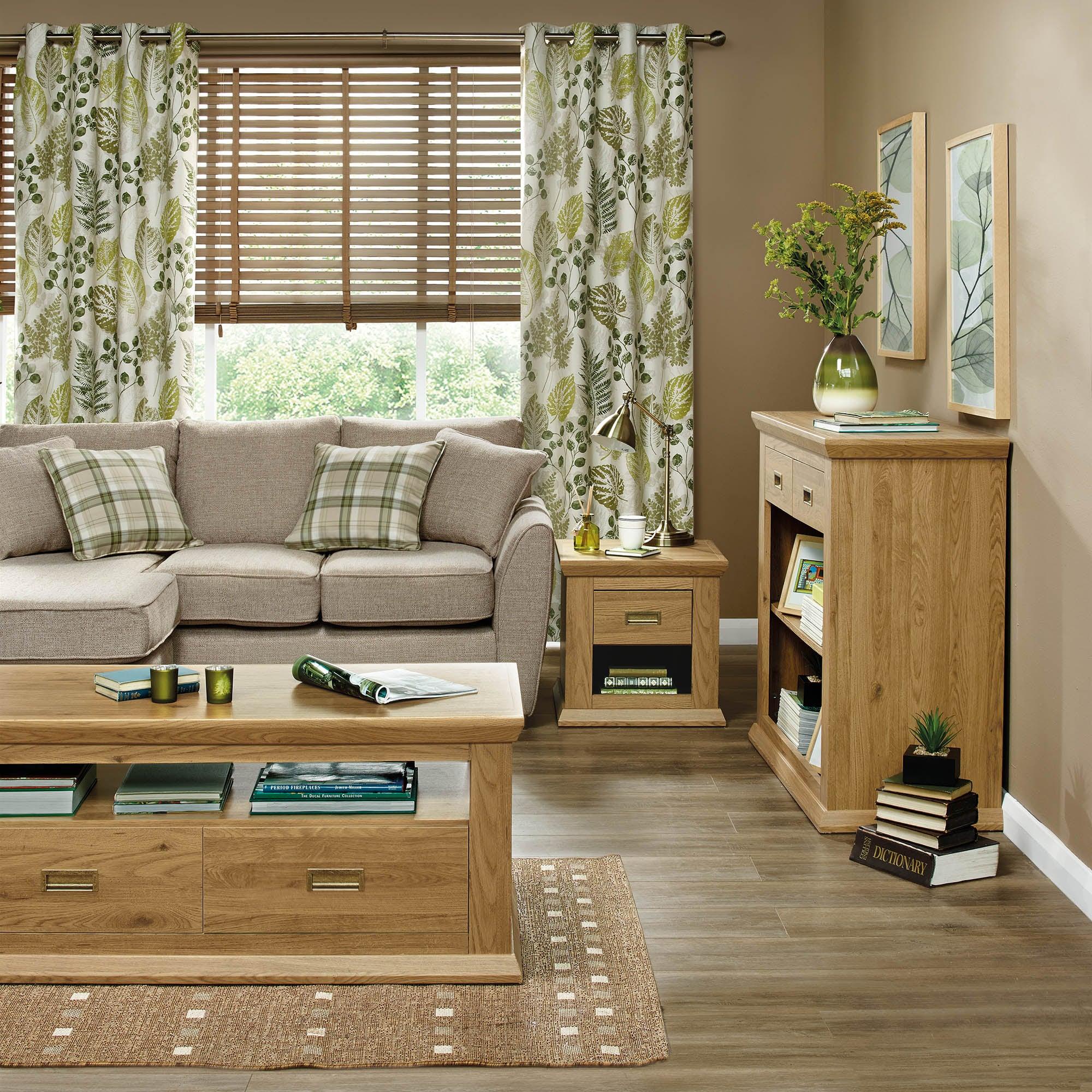 Langham Oak Living Furniture Collection