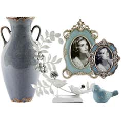 Chateau Blue Home Decor Collection