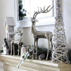 Winter Cottage Home Decor Collection