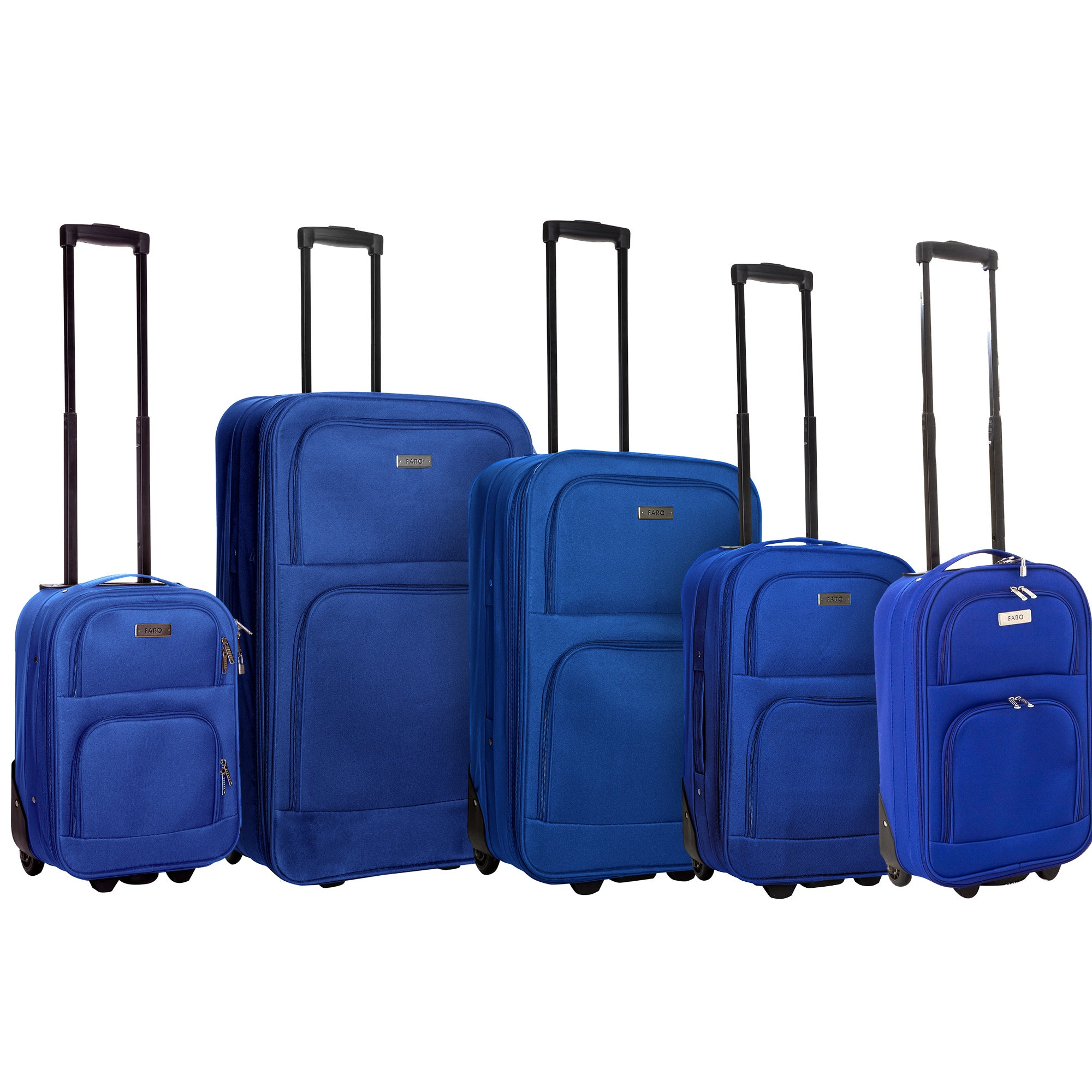 Faro Navy Luggage Collection