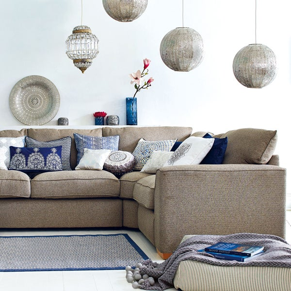 Indigo Bazaar Living Room