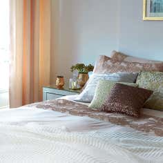 Golden Blush Bedroom