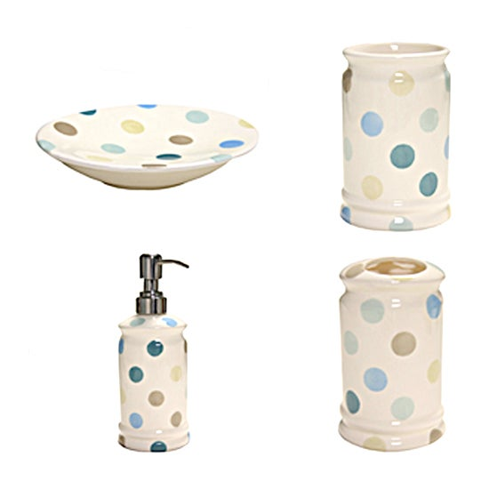 Blue Country Spot Bathroom Collection
