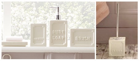 Vintage Soap Bathroom Collection