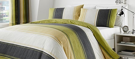 Green Finley Bedlinen Collection