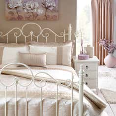 Latte Circles Bedlinen Collection
