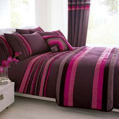 Plum Imogen Bedlinen Collection