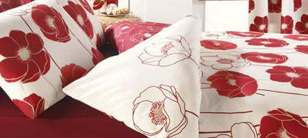 Red Poppy Bedlinen Collection